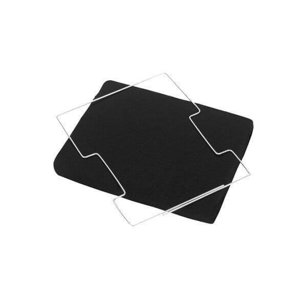 filtre de hotte aspirante charbon type 20 cfw020b akr969 akr669 et akr810 whirlpool 006051. Black Bedroom Furniture Sets. Home Design Ideas