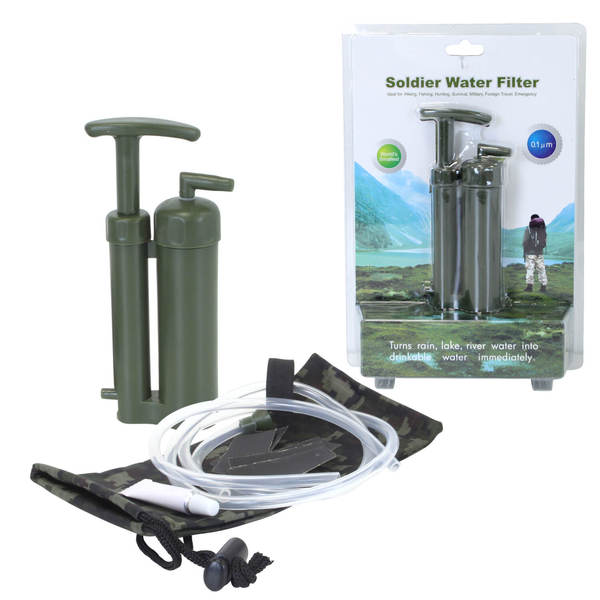 kit filtration d 39 eau randonn e soldier water filter filtre eau innovant waterconcept. Black Bedroom Furniture Sets. Home Design Ideas