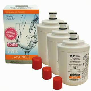 Filtre UKF7003 - Filtre frigo Maytag Puriclean cartouche UKF (lot de 3)
