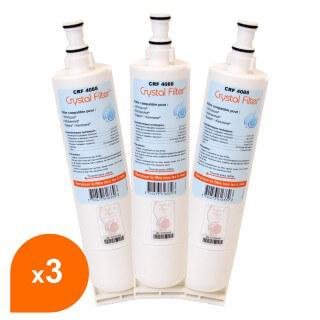 Filtre Crystal Filter® 4812 817 28986 CRF4088 compatible Whirlpool® (lot de 3)