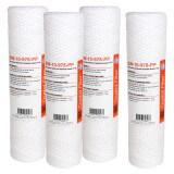 Filtre adoucisseur - Cartouche SW-10-978-PP sédiment bobinée 9''7/8 (lot de 4)