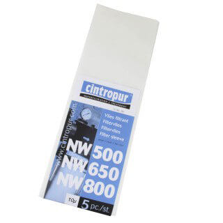 Manchettes filtrantes NW500 / NW650 / NW800 & NW50 / NW62 / NW75 - 10µ pour Cintropur