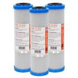 Cartouche CBE-10-934 charbon actif 9''3/4 - 10 µm - Crystal Filter® (lot de 3)