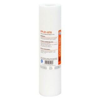 Cartouche PP-01-978 sédiment SPUN 9''7/8 - Filtre 1 µm - Crystal Filter®