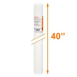 Cartouche PP-01-40 sédiment SPUN 40'' - filtre 1 µm - Crystal Filter®
