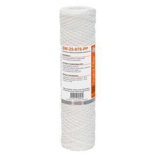 Cartouche SW-25-978-PP sédiment bobinée 9''7/8 - Filtre 25 µm - Crystal Filter®