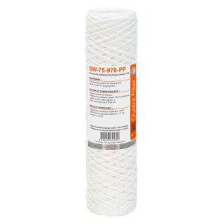 Cartouche SW-75-978-PP sédiment bobinée 9''7/8 - Filtre 75 µm - Crystal Filter®