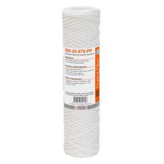 Cartouche SW-20-978-PP sédiment bobinée 9''7/8 - Filtre 20 µm - Crystal Filter®