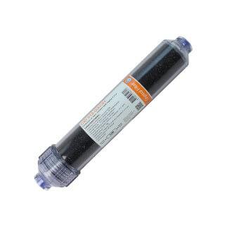 Conteneur en ligne charbon actif vegétal 2''x12'' - Crystal Filter® CRI 910-GAC01