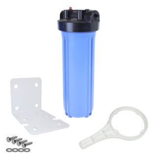 Kit Carter porte filtre complet FHPP-20BB Big Blue 20'' entrée/sortie 1'' femelle - Crystal Filter®