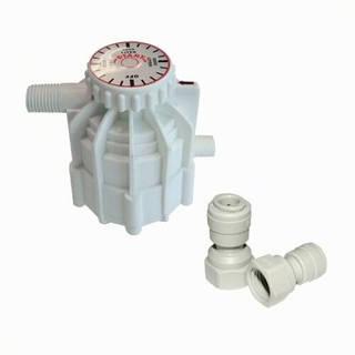 Compteur vanne volumétrique avec 2 raccords