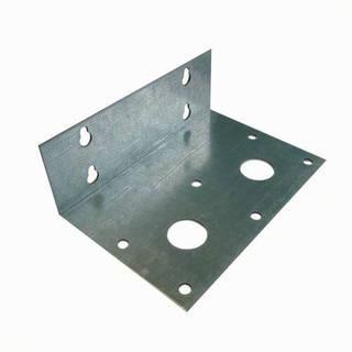 Equerre double métal de fixation pour carter duplex F43 sans vis