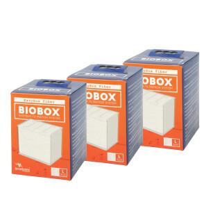 Filtre aquarium Easy box L Ouate Aquatlantis  (lot de 3) - Biobox