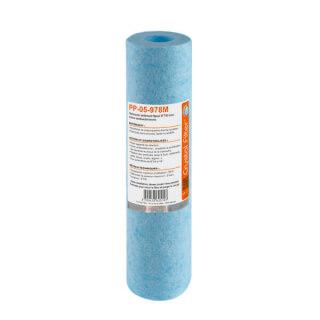 Cartouche PP-05-978M sédiment SPUN 9''7/8 - filtre 5µm - Antibactérien - Crystal Filter®