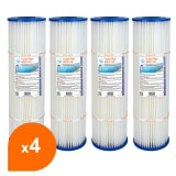 Filtre SPCF-118 - Crystal Filter® - Compatible Pentair® QUAD DE 60 (lot de 4)