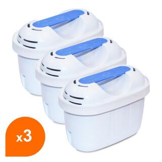 Filtre carafe filtrante Filter Logic FL-402E - Cartouche compatible Brita® Maxtra+® (lot de 3)