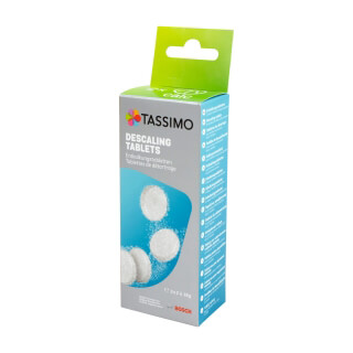Pastilles détartrantes cafetières Tassimo Bosch