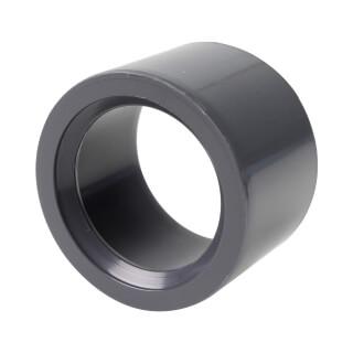 Réduction incorporée - 40/32 mm - Mâle/Femelle à coller - PVC Pression