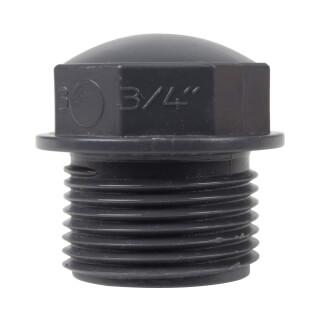Bouchon - Mâle fileté 3/4'' - PVC pression