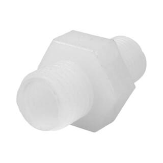 Raccord porte membrane droit 1/8'' vers 1/4'' tube type Jaco