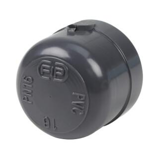 Bouchon - 16 mm - Femelle à coller - PVC pression