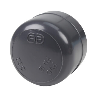 Bouchon - 32 mm - Femelle à coller - PVC pression