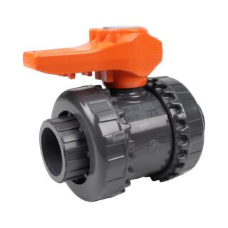 Vanne bâtiment - 25 mm - Femelle à coller - Joint EPDM - PVC pression