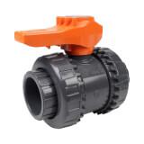 Vanne bâtiment - 40 mm - Femelle à coller - Joint EPDM - PVC pression