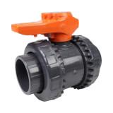 Vanne bâtiment - 50 mm - Femelle à coller - Joint EPDM - PVC pression