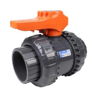 Vanne bâtiment - 63 mm - Femelle à coller - Joint EPDM - PVC pression