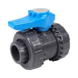 Vanne piscine - 20 mm - Femelle à coller - Joint EPDM - PVC pression