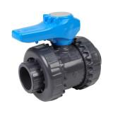 Vanne piscine - 25 mm - Femelle à coller - Joint EPDM - PVC pression