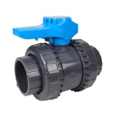 Vanne piscine - 63 mm - Femelle à coller - Joint EPDM - PVC pression