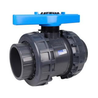 Vanne piscine - 90 mm - Femelle à coller - Joint EPDM - PVC pression