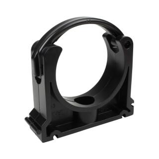 Collier clips pour tube PVC 63 mm