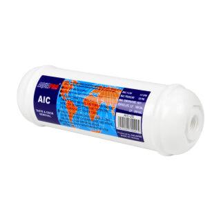 Cartouche en ligne charbon AIC-2S AQUAPRO 6'' taraudé 1/4''
