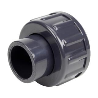 Demi union trois pièces pour débitmètre à ludion 20 mm