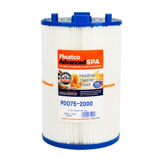 Filtre PDO75-2000 Pleatco Standard - Compatible Home Hot Tubs, Dimension One Spas - Filtre Spa bain remous