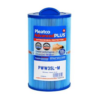 Filtre PWW35L-M Pleatco Plus - Compatible Waterway Teleweir 35 SF - Filtre Spa bain remous