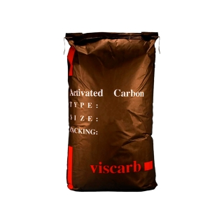 Charbon actif végétal de qualité alimentaire mesh 8x30 - Sac de 25 kg
