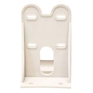 Équerre simple plastique de fixation pour carter EU 10'' 3 pièces sans vis