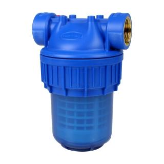 Filtre à eau 3 pièces 5'' Ribitech® avec cartouche lavable 50 µm