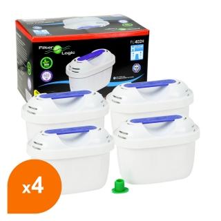 Cartouche compatible Brita® Maxtra+® - Filtre carafe filtrante FL-402H (lot de 4)