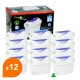 Cartouche compatible Brita® Maxtra+® - Filtre carafe filtrante FL-402H (lot de 12)
