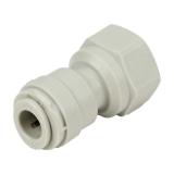 Union adaptateur - Femelle taraudée 1/4'' - Push in 1/4''