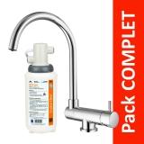 Robinet 3 voies Arches Chrome + Kit de filtration QCF-3001/321 - PROMO