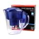 Carafe filtrante bleue 2,4 litres 1 cartouche offerte - FJ402B