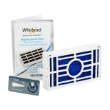 Filtre à air antibactérien pour frigo Whirlpool Microban ANT001 - 481248048172