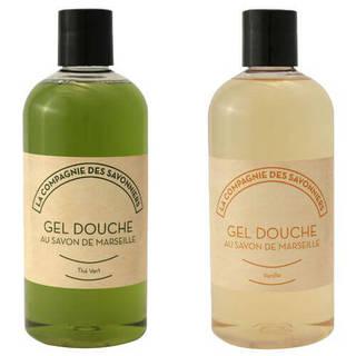 Lot de gels douche Thé vert et Vanille 500 mL