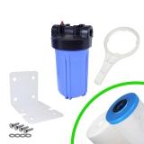 Kit Carter porte filtre complet FHPP-10BB Big Blue 10'' entrée/sortie 1'' femelle - Crystal Filter®